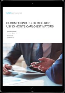Decomposing Portfolio Risk Using Monte Carlo Estimators