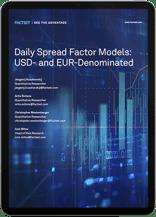 FactSet USD and EUR EM DTS Risk Model ipad